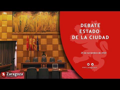 25 de noviembre de 2020. Debate Estado de la Ciudad